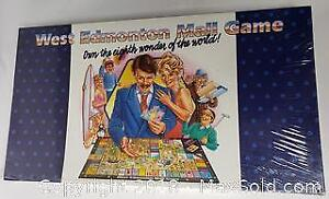West Edmonton Mall Promotional Opening Board Game