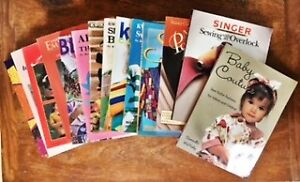 Lot of 14 sewing books - like new!