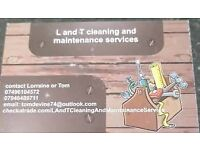 L and T cleaning and maintenance services