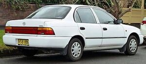 Wanted Toyota Corolla CSI Seca 1999 or 98 Sedan Wyee Point Lake Macquarie Area Preview