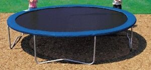 Trampoline 13 foot round little used