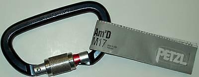 New Petzl Carabiner M17 Key Lock/Screw Gate Never Used
