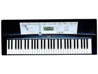 Yamaha PSR-E203 portable electronic keyboard (61 full size keys) nearly new in original packing.