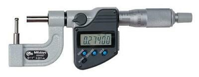 Mitutoyo 395-363-30 Tube Micrometer 0-1 Range .000050.001mm Resolution