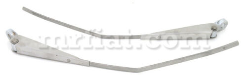 Alfa Romeo Gt Junior Gtv Chrome Wiper Arm Set Oem New