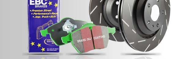 PD06KF363 EBC Front Brake Kit Greenstuff Pads & Ultimax Discs