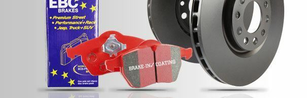 PD02KR234 EBC Rear Brake Kit Redstuff Pads & Standard Discs