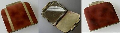 Art Deco Puderdose um 1930 (31148)