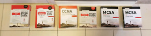 IT Cert Books - never used!  A+. Microsoft. CCNA. Project+. Netw
