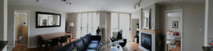 FURNISHED - 2 BED + DEN - 2 BATH - CONDO - 940 SQ. FT.