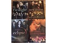 Twilight/New Moon/Eclipse/Breaking Dawn Official Illustrated Movie Companion Books