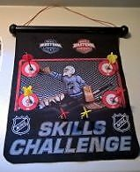 NHL Skills Challenge Magnetic Roll-Up Dart Board