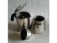 Ikea Espresso maker, rarely used, plus 2 free espresso cups