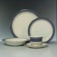 Dinnerware set for 12 - Mikasa Aztec Blue