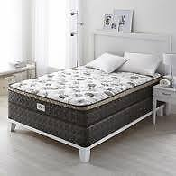 BRAND NEW... Algonquin kingsize mattress and boxspring for sale