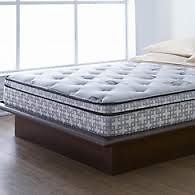 """wholeHome """"Oxford VIII"""" queen mattress and boxspring"""
