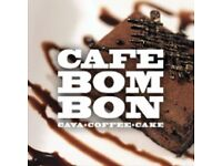 Cafe Bom Bon - Part Time Staff Immediate Start