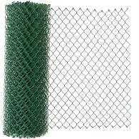 green Chain Link Fence left overs