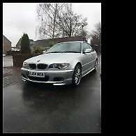 BMW 325ci M Sport. MOT Feb 19 Black leather VGC