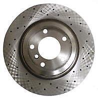 Zimmerman Cross Drilled Rear Disc Brakes - BMW E90/E92/E93/E84
