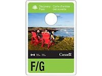 Parks Canada Discovery Passes- REDUCED PRICE