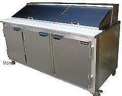 "72"" Refrigerated Prep Table - brand new -Made in USA"