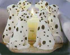 Circle of Dalmations, Dalmation circle candleholder, Dallies Oakville / Halton Region Toronto (GTA) image 4