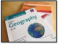 Higher Geography Revision books