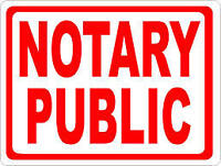 Notary Public, Process Server, Oaths Commissioner, Signing Agent