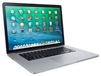 Apple MacBook Pro 15inch with Retina display (Released Mid 2014), 2.8GHZ(boosts to 4.0GHZ)