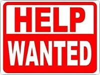 Laborer Wanted - Potential for larger role