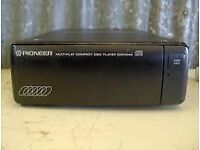 Pioneer CDX-M40 six CD multi changer - with mounting brackets