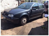 GOLF VW 1.4 BREAKING ANY PART £10* 1999-2004
