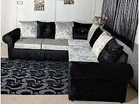 New Quality Crush Velvet Liverpool sofa Available In Limited Stock Book It Now