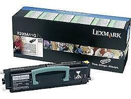 Lexmark X203A11G Original Black Return Program Toner