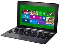 NEW DISPLAY MODEL ASUS T100 LAPTOP/TABLET DETACHABLE QUAD CORE 2GB RAM 32GB SSD TOUCHSCREEN WEBCAM