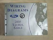 OEM 2005 FORD TAURUS MERCURY SABLE WIRING DIAGRAMS BOOK ...