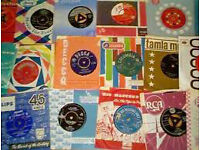 45 RPM RECORDS SINGLES & ALBUMS WANTED MAINLY 60'S & 70'S BY COLLECTOR