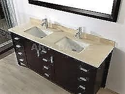 VANITIES TOP and COUNTER TOP (FREE SQUARE SINK) !!!