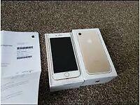 Iphone 7 plus 32g gold
