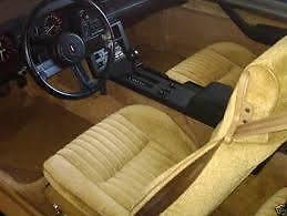 recherge siège.banc de camaro 1982 beige