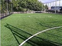 5 aside football players - Mile End