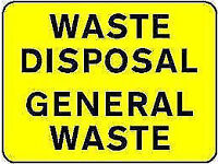 * LOW COST * GENERAL JUNK RUBBISH CLEARANCE BUILDERS GARDEN WASTE COLLECTION REMOVAL DISPOSAL OFFICE