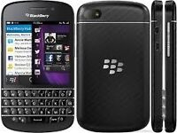 blackberry Q10 unlocked in good working condition