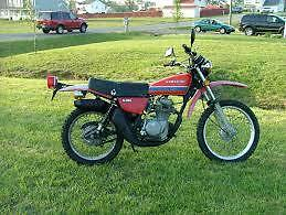 "1978 Kawasaki KL250 ""Parts lot"" One price for all"