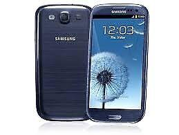 Samsung galaxy s3 unlocked like brand new free case+Glass Screen Protector