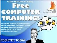 free computer training for anyone