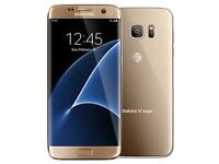 Samsung Galaxy S7 Edge 32gb Gold - Unlocked - Immaculate