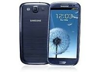 Samsung galaxy s3 unlocked like brand new free case+Glass Screen Protector