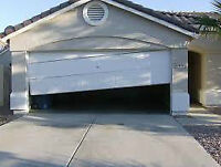 Installation reparation vente Porte de Garage door repair 24/7